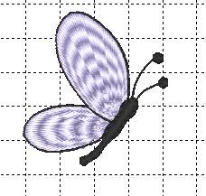 Half a butterfly