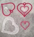 Hearts in the hoop