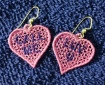 Candy Heart Earrrings