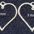Two heart hoops