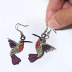 Sonia Showalter Hummingbird earrings