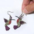 Sonia Showalter Hummingbird earrings